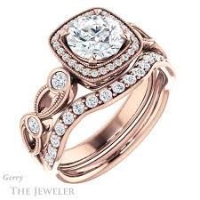 vintage halo engagement rings vintage halo engagement ring setting gtj1201 r gerry the