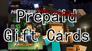 where to buy minecraft gift cards minecraft prepaid physical giftcards available now