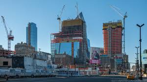 Hudson Yards Map Supertall Office Tower 30 Hudson Yards Continues Ascent As U0027vessel