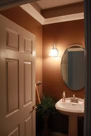 half bathroom decorating ideas bathroom fresh half bathroom ideas design with oval wall mirror