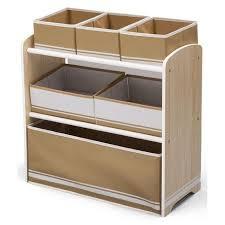 meuble de rangement jouets chambre deltakids meuble enfant de rangement jouets livres en bois blanc