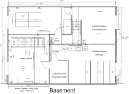 basement home theater floor plans home plan