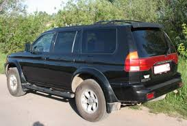 pajero mitsubishi 1998 1998 mitsubishi montero sport information and photos zombiedrive