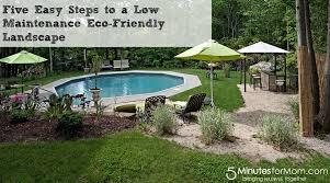 Backyard Low Maintenance Landscaping Ideas Low Maintenance Landscaping Seattle Design And Ideas