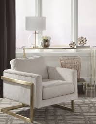 Donny Osmond Home Decor by Ivory Upholstered Accent Chair By Donny Osmond From Coaster