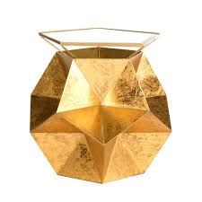 Gold Side Table Safavieh Iona Gold Side Table Fox3252a The Home Depot