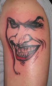 fine joker face tattoo design in 2017 real photo pictures