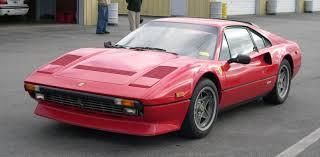 velvet ferrari classic ferrari dino 308 in all its glory