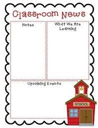 best 25 newsletters ideas on pinterest classroom