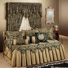 Daybed Skirts Bedroom Luxury Daybed Bedding With Beige Bed Skirt And Elegant