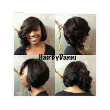 layered bob sew in hairstyles for black women for older women layered bob celebrity sew in hairstyles black women polyvore