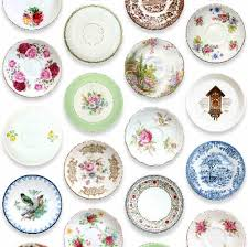 vintage plates home shopping