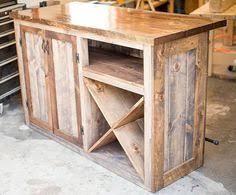 Rustic Bar Cabinet Ikea Hack Rustic Bar With Galvanized Metal Top Remodelaholic