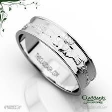 ladies rings jewellery images Ladies flat celtic wedding ring in platinum jpg