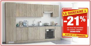 demeyere cuisine brico promotie 21 sur tous les meubles de cuisine paprika
