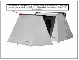 Awning Pole Kodiak Vestibule Wing 0604 For 14 Foot Canvas Tents Spring Discount