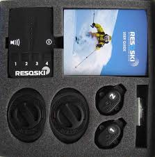 electronic finder resqski electronic ski finder review snow magazine