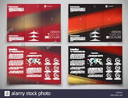 design triple folding brochure printing and advertising template