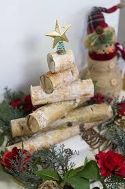 rustic birch wood holiday tree anything u0026 everythinganything