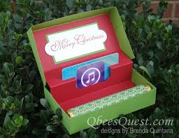 christmas gift card boxes this is my version of the gift card boxes that you may seen
