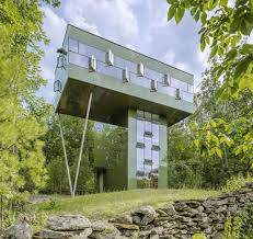 new york house treetop home in upstate new york