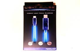 Light Up Iphone Charger Glow Pulse Micro Usb Light Up Charging Cable For Android Youtube