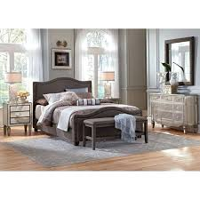 Mirrored Bedroom Sets Cherry Wood Standing Mirror Mixing Wood And Mirrored Furniture