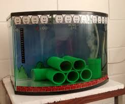 mario bros fish tank 5 steps with pictures