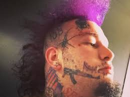 stitches gets the scariest but most adorable face tat ever u2013 sohh com