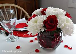 s day table centerpieces valentines day table decor home decor 2018