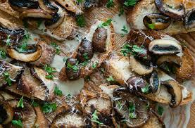 cuisine plancha mushrooms a la plancha crostini the juice w