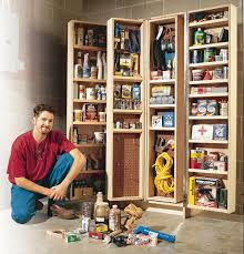 Tool Storage Shelves Woodworking Plan by A Giant Shop Cabinet Popular Woodworking Magazine