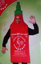 Sriracha Sauce Halloween Costume Chinese Men Costume Ebay