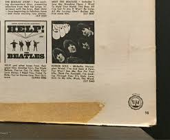 the beatles yesterday and today lp vg rare 1971 red label