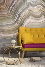 wall mural ideas diy inspiration for home decor polished cut of agate mural