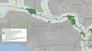 Los Angeles Regions Map by Maps And Guides Los Angeles River Revitalization