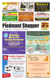 piedmont shopper 11 7 13 by piedmont shopper issuu
