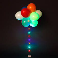 Lighted Balloons Sparkle Ribbon Led Balloons Balloon Accessories