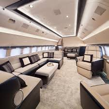 Private Jet Floor Plans 20 Private Plane Interiors Nicer Than Your House Planes Private