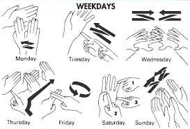 number names worksheets days if the week free printable