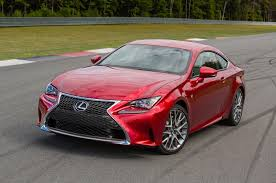 red lexus 2015 lexus rc 350 rc f review