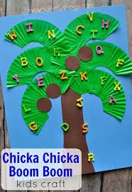chicka chicka boom boom kids craft chicka chicka boom boom