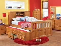 Full Bookcase Trundle Bed With Bookcase Headboard Hollywood Thing