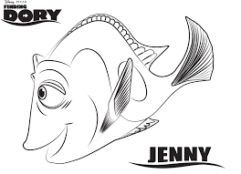 marlin dory nemo coloring pages dory coloring pages theotix