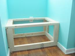 Diy Wooden Bench Seat Plans by Silver Lining Decor Diy Built In Window Seat And Storage