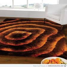 Orange And Black Rugs Brown And Orange Rug Rug Designs