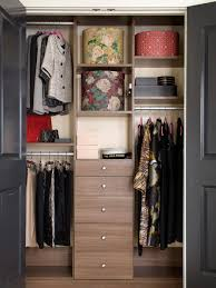 how to build a simple closet organize clothes in drawers small
