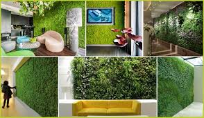 making green making of vertical garden 3d architectural visualization