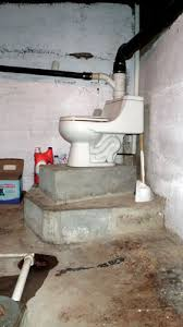 54 installing toilet in basement floor how connect bathtub drain