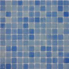 Magnetic Decorative Pool Tiles Ceramic with Barbados Blue Mosaic